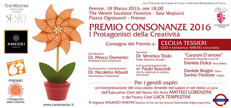 Premio Consonanze 2016  Cecilia Tessieri